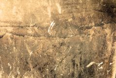 Distressed Wall. Photograph of a distressed wall. Suitable for grunge backgrounds Royalty Free Stock Photos
