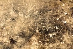 Distressed Wall. Photograph of a distressed wall. Suitable for grunge backgrounds Royalty Free Stock Image