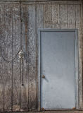 Distressed Wall and Door Backdrop Royalty Free Stock Photo