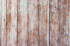 Distressed weathered wood. Distressed weathered painted wood texture close-up as background stock photo