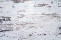 Distressed white wooden background texture Stock Photography