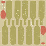 Distressed Wine background Royalty Free Stock Photos