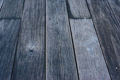 Distressed wood texture. Perspective view Stock Images