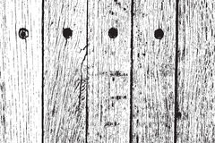 Distressed Wooden Planks Stock Photo