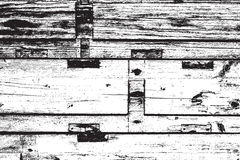 Distressed Wooden Planks Royalty Free Stock Photography