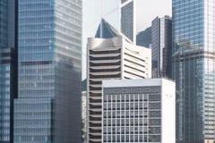 Distretto aziendale di Hong Kong Immagine Stock Libera da Diritti