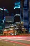 Distretto aziendale di Singapore fotografia stock libera da diritti