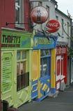 Distretto aziendale in Shannon Town, Ireand Immagine Stock