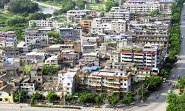 Distretto cinese di zona di bassifondi Immagine Stock
