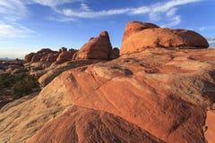 Distretto degli aghi del parco nazionale di Canyonlands Fotografia Stock Libera da Diritti