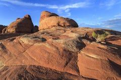Distretto degli aghi del parco nazionale di Canyonlands Immagini Stock Libere da Diritti