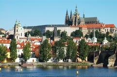 Distretto del castello di Praga Fotografia Stock