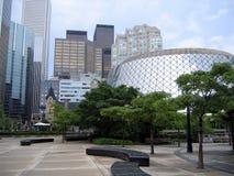 Distretto del centro del teatro di Toronto Fotografie Stock