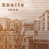 Distretto del ghetto Manifesto stilizzato nel retro stile illustrazione vettoriale