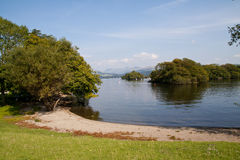 Distretto del lago fotografia stock libera da diritti