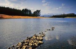 Distretto del lago Immagine Stock Libera da Diritti