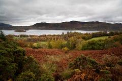 Distretto del lago Windermere, lago, Cumbria, Inghilterra Fotografia Stock Libera da Diritti