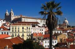 Distretto del Portogallo Lisbona Alfama immagine stock libera da diritti