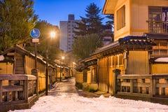 Distretto del samurai di Kanazawa, Giappone Immagine Stock