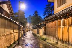 Distretto del samurai di Kanazawa, Giappone Fotografie Stock
