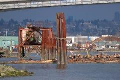 Distretto dell'industria pesante del ` s di Vancouver Fotografia Stock Libera da Diritti
