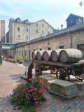 Distretto della distilleria, Toronto Ontario fotografia stock libera da diritti
