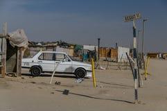 Distretto della Namibia - di Swakopmund - di Mondesa Immagine Stock