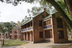 Distretto della villa Fotografie Stock
