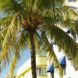 Distretto di art deco di Miami Fotografie Stock