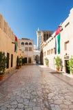 Distretto di Bastakiya nel Dubai Immagine Stock
