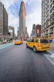 Distretto di ferro da stiro di New York Fotografia Stock Libera da Diritti