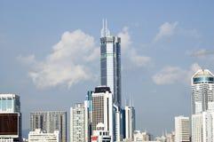 Distretto di Futian - di Shenzhen immagini stock libere da diritti