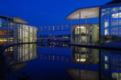 Distretto di governo a Berlino Immagini Stock Libere da Diritti