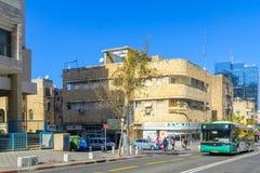 Distretto di Hadar HaCarmel a Haifa Fotografia Stock