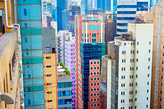 Distretto di Hong Kong Fotografia Stock Libera da Diritti