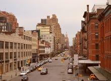 Distretto di imballaggio della carne, NYC Immagini Stock Libere da Diritti