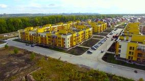 Distretto di lusso suburbano in Europa video d archivio