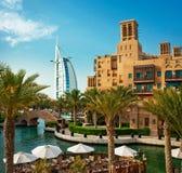 Distretto di Madinat Jumeirah 3, 2013 nel Dubai. Fotografia Stock Libera da Diritti