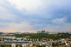 Distretto di Mianyang Yuanyi Fotografie Stock