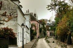 Distretto di Montmarte di Parigi fotografie stock