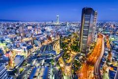 Distretto di Namba di Osaka, Giappone fotografia stock