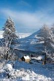 Distretto di punta della neve fotografie stock