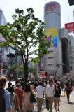 Distretto di Shibuya Immagine Stock