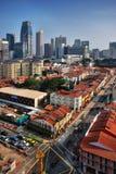Distretto di Singapore Chinatown Immagine Stock