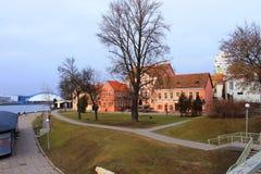 Distretto di Traetskae a Minsk, Bielorussia Fotografie Stock