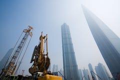 Distretto finanziario di Shanghai.Lujiazui.   Fotografia Stock