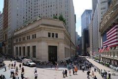 Distretto finanziario New York ity Fotografia Stock Libera da Diritti