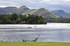 Distretto Inghilterra del lago water di Derwent Fotografia Stock