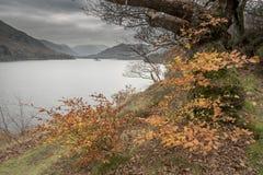 Distretto inglese Cumbria del lago Ullswater Fotografia Stock