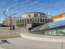 Distretto Montreal di spettacolo Fotografie Stock Libere da Diritti